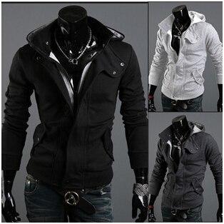 Moda uomo cappotto Uomo casual buono Giacca Cappotto Uomo Abbigliamento Cardigan Giacca stile 3 Colori Taglia M-XXXL
