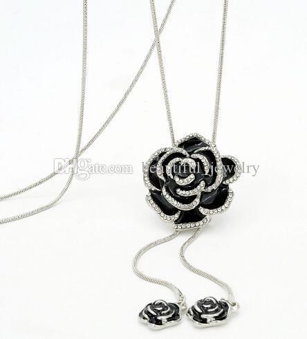 Nuovo stile versione coreana della nuova lunga catena maglione catena accessori moda abbigliamento accessori gioielli collana maglione catena clas