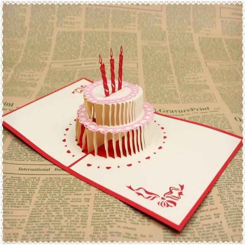 doğum günü partisi süslemeleri çocuklar tebrik kartları doğum günü partisi iyilik 3d doğum günü açılır kartları tebrik kartı 12 stilleri lot
