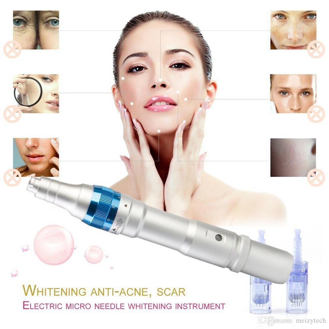 Ultima A6 Derma Pen DR.PEN Auto Electric Micro Needle Rechargeable Battery Acne Scar Removal Anti Spot Hydra Therapy