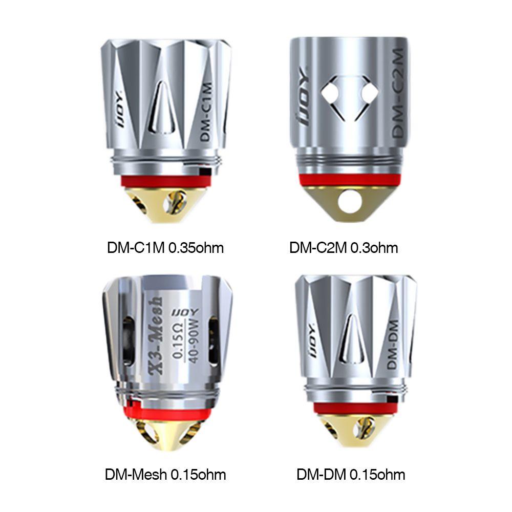 Diamond 3pcs Original IJOY coils for IJOY Katana Captain X3