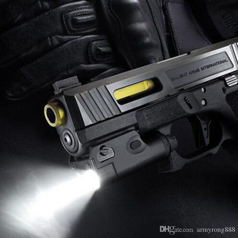 SF XC1 전술 빛 권총 미니 사냥 LED 손전등 에어건 등 사탕 테르 샷 G17 G18 G19