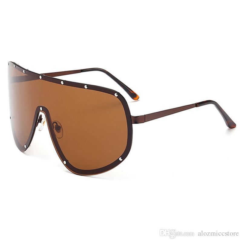 моды женщин мужчин негабаритный соединенная очки моды бренд дизайнер солнцезащитные очки для женщин солнцезащитные очки UV400 W80