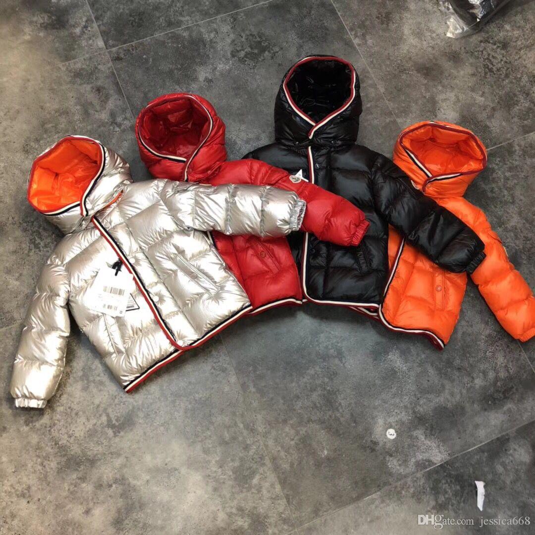 free shipping 90% goose Down Snow Wear Warm Outerwear Winter Jackets Coats 2018 New Baby Boy Parka Girls