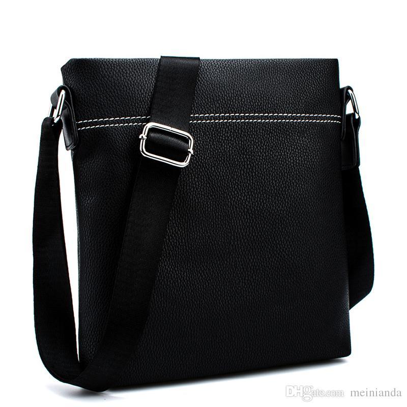Mens Leather Crossbody Messenger Shoulder Bags Handbag Satchel Casual Day Bag