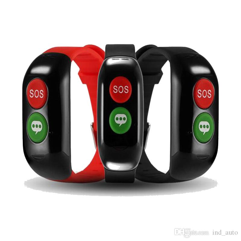 Smart Voice e SOS Key Alarm Phone Watch Posizione GP WIFI Smart Watch Promemoria salute invecchiato Monitoraggio della frequenza cardiaca Monitor della frequenza cardiaca Smartwatch