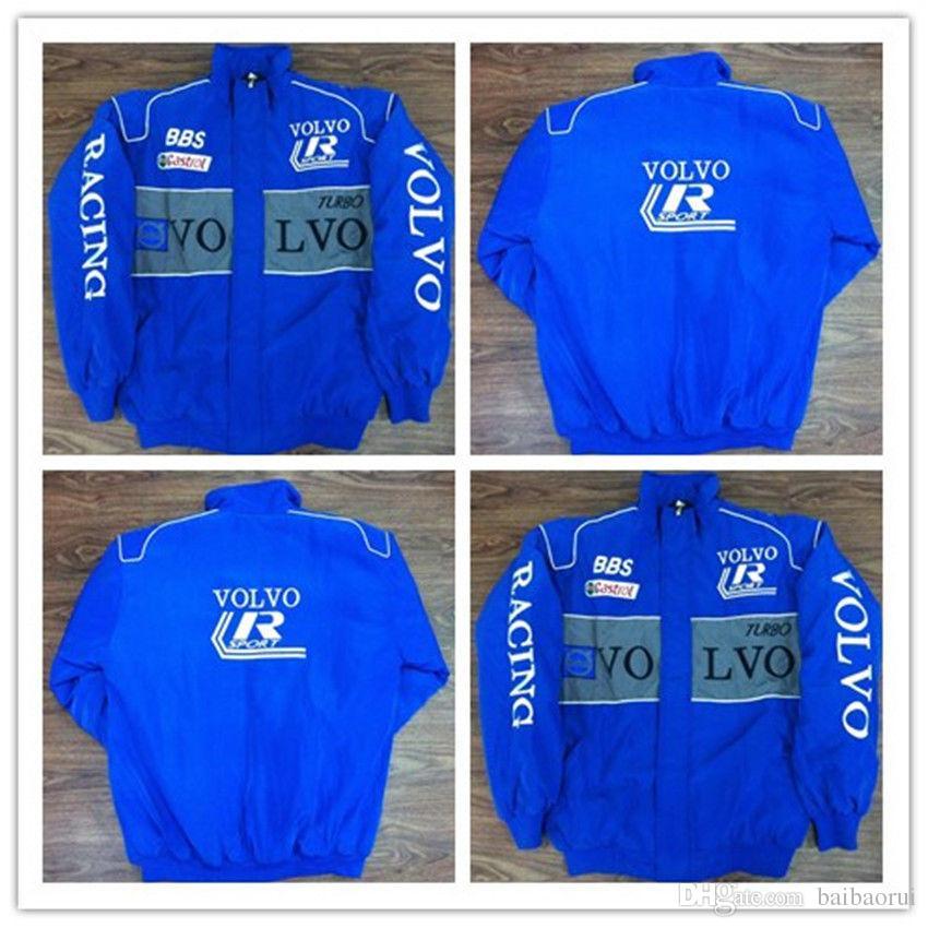 2018 VOLVO coton broderie coton Nascar Moto Car Racing Racing Suit