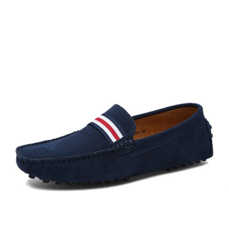 Fashion Men/'s British Slip On Casual  Shoes Lace Loafers Driving Moccasins Shoes