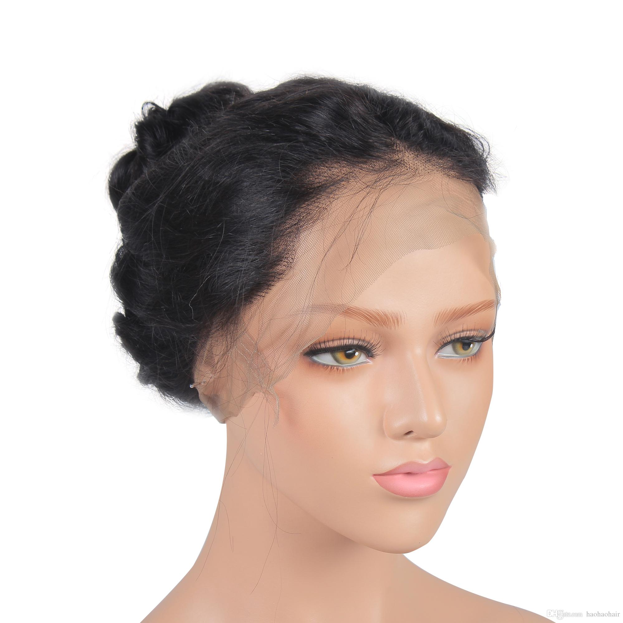 Human Hair Lace Front Wigs Full Lace Human Hair Wigs 360 Wig Glueless Swiss Lace High Quality Free Shipping