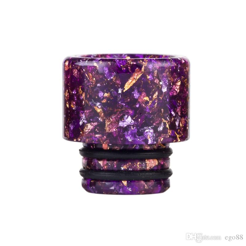 510 Exclusive Snakeskin Resin Drip Tip TFV8 Baby Wide Bore Mouthpiece TFV12 Baby Prince Vape DripTips E cig Accessories