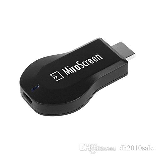 1080P HDMI AV Adapter Cable Wifi Mirascreen Dongle for connect Samsung Galaxy IOS Apple iPhone iPad Tablet PC to HD TV