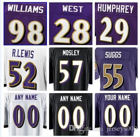 4b4a5f1a 2019 2019 Baltimore Terrell Suggs Ravens Jersey CJ Mosley Marlon Humphrey  Soccer Rugby College Retro Rugby American Football Jerseys Stitched Kid  From ...