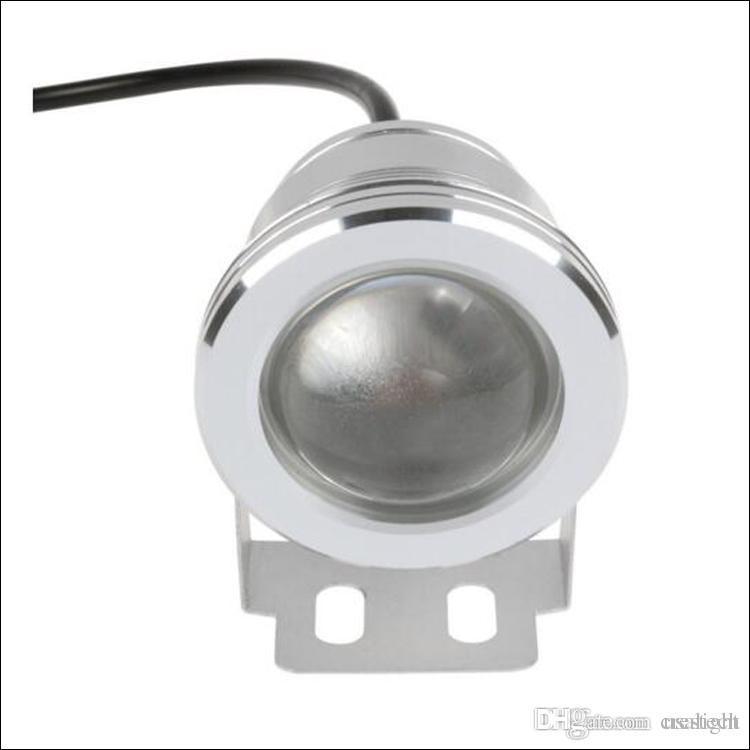 Projecteur sous-marin à LED 10W RGB spot DC 12V 24 clés Télécommande IR étanche étanche IP68
