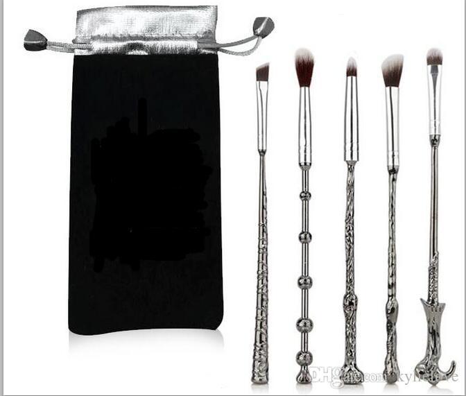 5 pezzi Harry Potter Beauty Makeup set di pennelli ombretto Pennelli per trucco Cosmetici Make up Strumenti Accessori Supporto