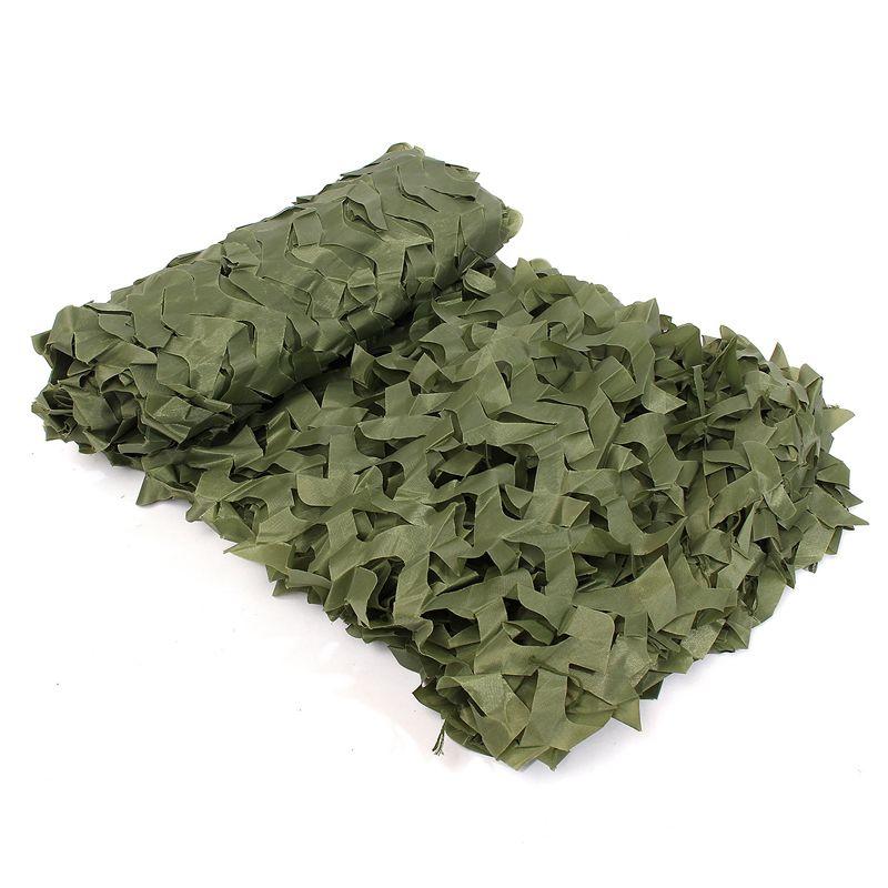3x5m (10x16.4ft) Lasy Lasy Kamuflaż Camo Armia Ukryj okładkę netto Camping Wojskowy Polowanie 4 Kolor Wybierz
