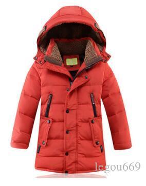 L'abbigliamento per bambini è piumino di un bambino, e la lunghezza media del ragazzo è il 2019. Nuovo abbigliamento invernale W511