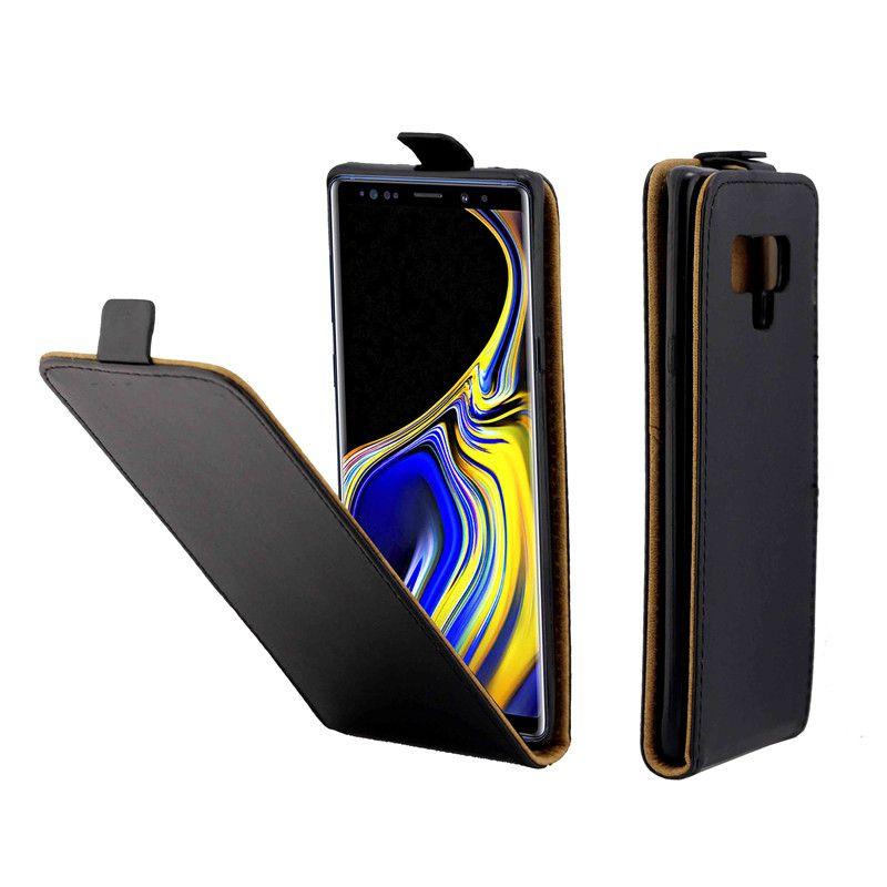 Iş Deri Kılıf Coque Samsung Galaxy Not 9 Için Dikey Çevir Kapak Kart Yuvası Kılıfları Galaxy Not 9 Cep Telefonu Çanta Için