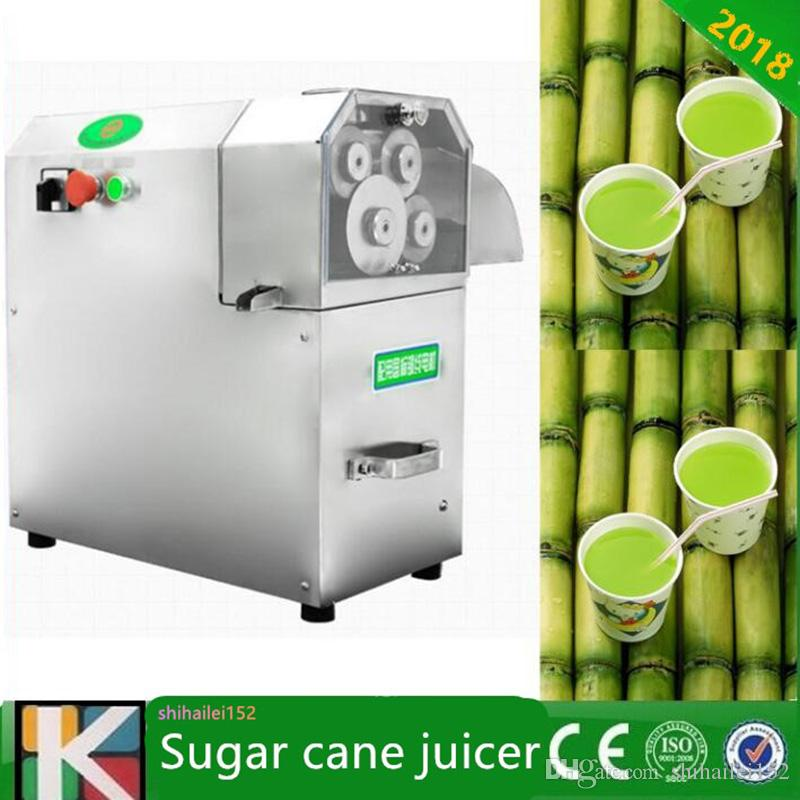 Grande saída 3 rolos / 4 rollders opcional máquina de espremedor de cana de açúcar de aço inoxidável elétrico com alta qualidade