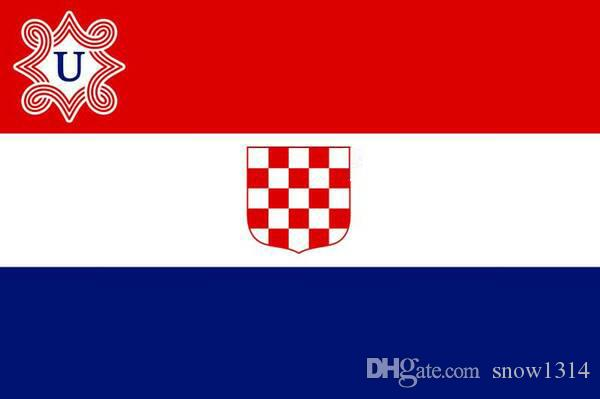 2020 Independent State Of Croatia 1941 1945 Flag Banner 150cm 90cm 3 5ft Polyester Custom Banner Sports Flag U2 From Snow1314 9 19 Dhgate Com