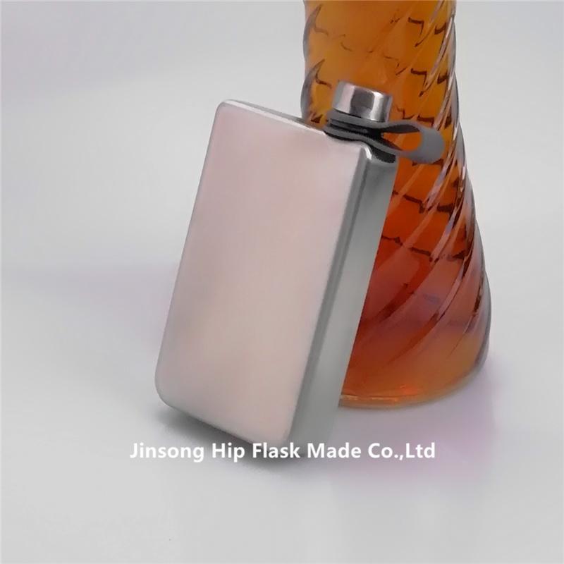 Upspirit 8 Once In Acciaio Inox Silber Flachmann Whisky Bottiglia All'aperto Tasca Portatile Fiaschi di Vino Brocche