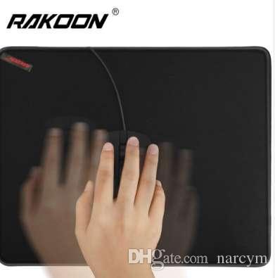 Rakoon Gaming Mouse Pad Anti-slip Borracha Natural PC Computador Gamer Mousepad Borda de Travamento Mouse Pad para CS IR LOL DOTA2
