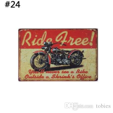 1 pc 24 Motifs De Viande Rétro Plaque Décoration Murale pour Bar Pub Cuisine Accueil Vintage En Métal Affiche Plaque En Métal Signes Peinture Plaque