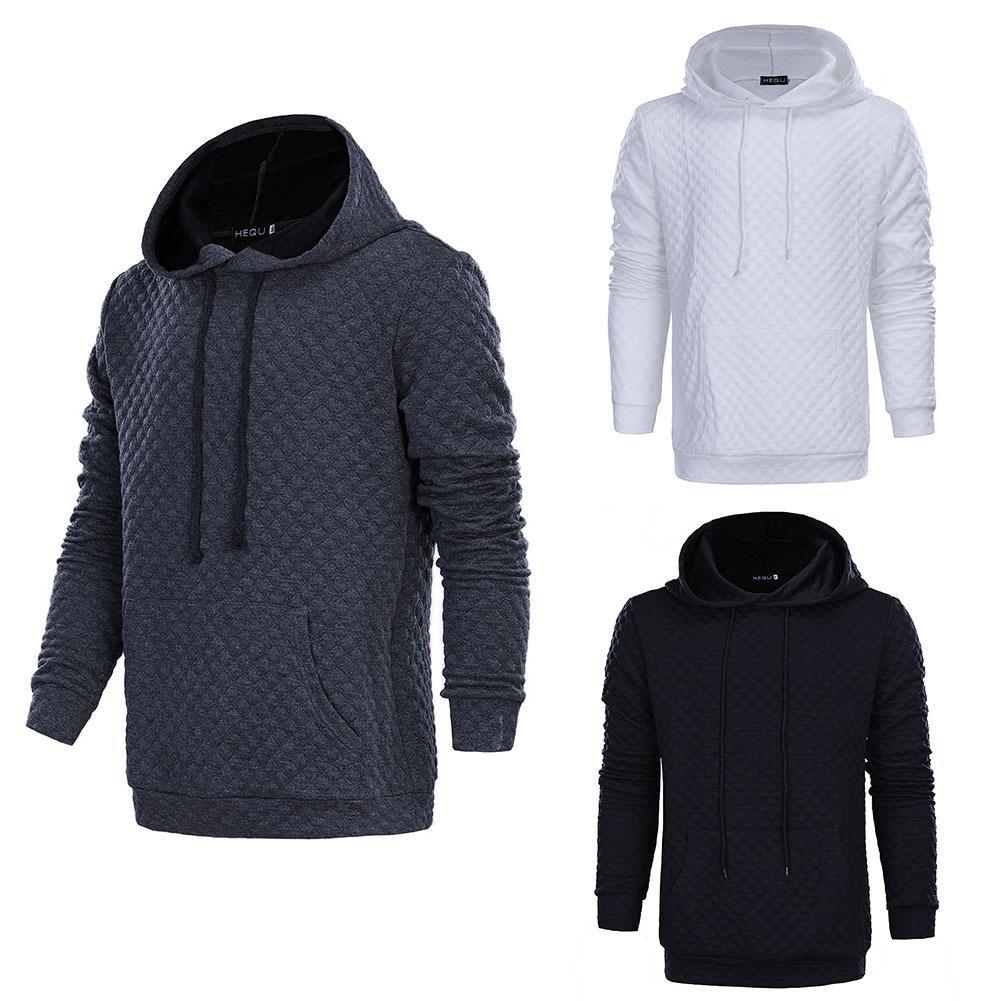 Оптовая 2018 осень и зима Новый рис характер сетки чистая самосовершенствование капот с капюшоном мужская свитер куртка толстовки