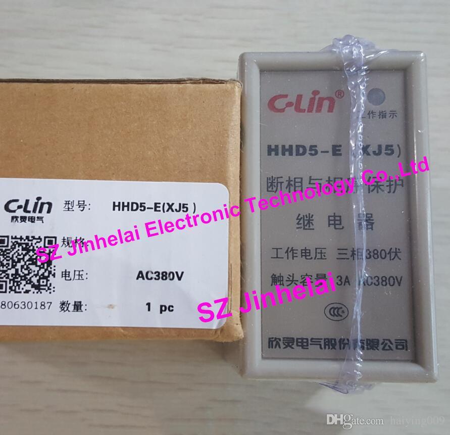 C- لين HHD5-E (XJ5) جديد الأصلي مرحلة الفشل تسلسل المرحلة حماية التتابع AC380V رفع آلة مصعد حماية المحرك