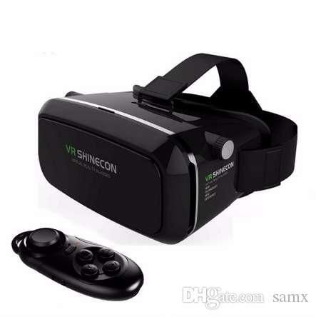 Vendite calde! New Shinecon VR Google VR con cuffie VR Virtual Reality Glasses 3D per 4.5 - 6.0 pollici Smartphone