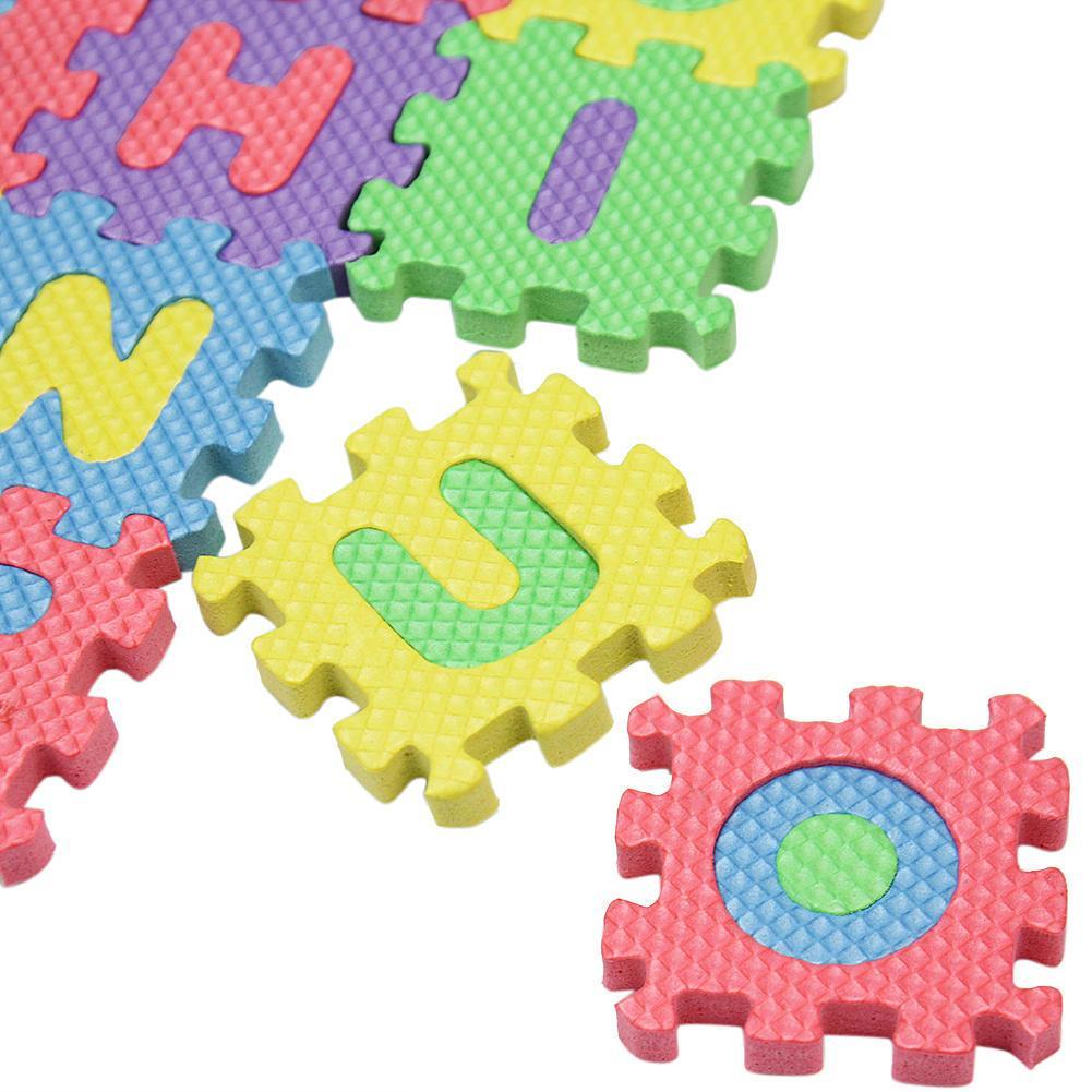 Environmentally schiuma EVA 36 lettere stuoia Tappetini bambino Carpet Pad giocattoli per i bambini