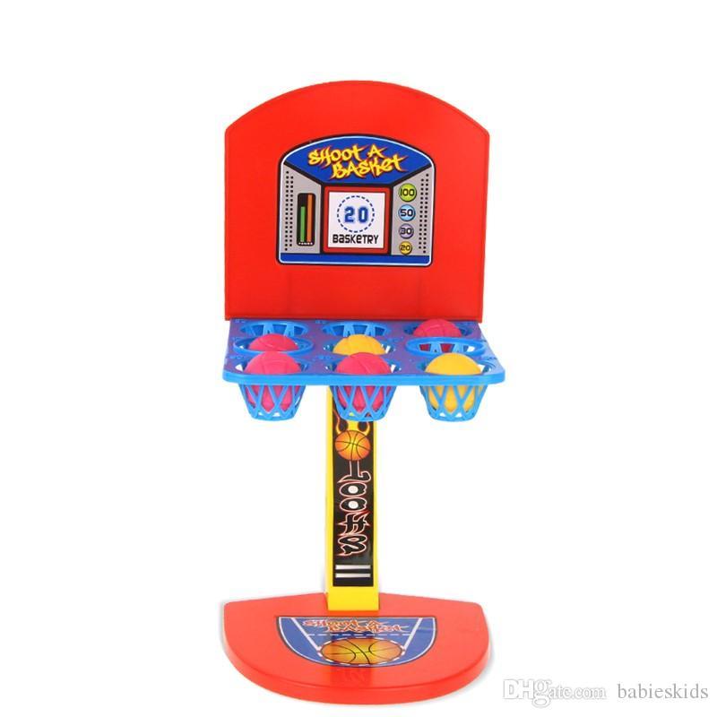Yeni Moda Çocuk oyuncakları Mini Basketbol Oyuncak basketbol standı kapalı Ebeveyn-Çocuk Aile Eğlenceli Masa Oyunu Oyuncak Basketbol Çekim Oyunları