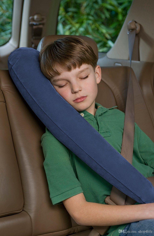 İyi Ev Bahçe Tekstili Travelrest Seyahat Yastık Boyun Yastık Araba Uyku Konfor Istirahat Şişme Yastıklar 3896