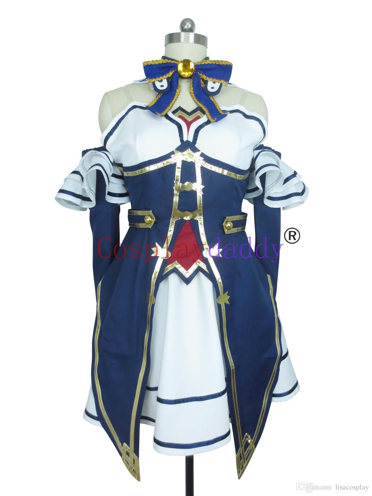 Hyperdimension Neptunia Cosplay Noire The 2nd Version Costume