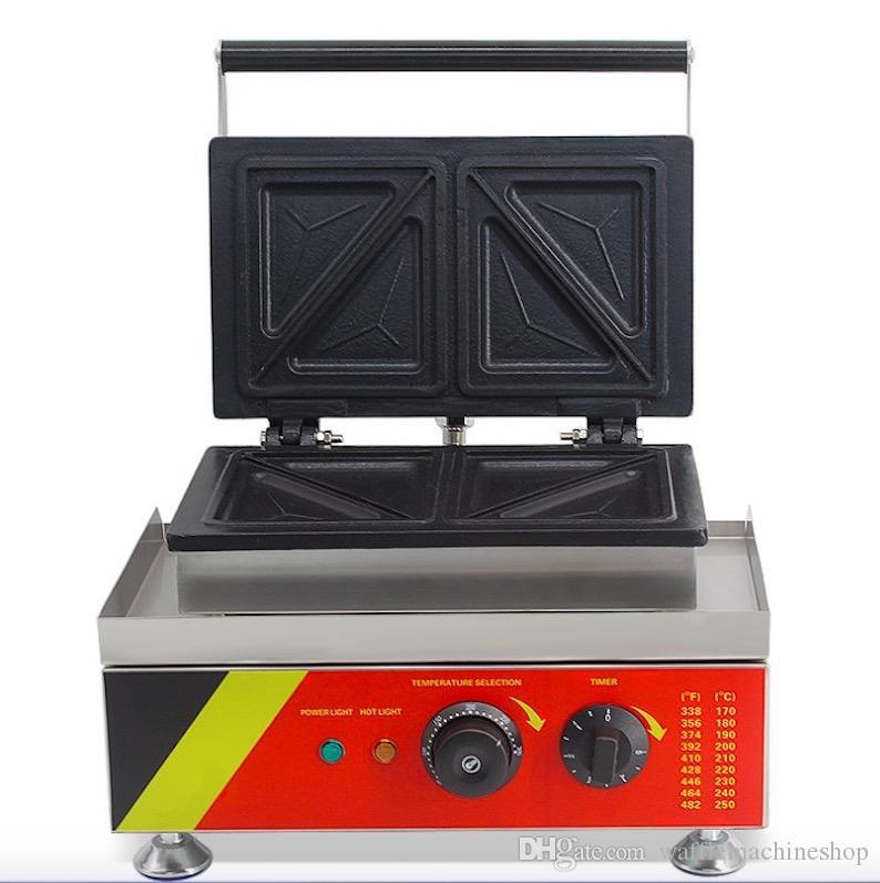 NP-534 Ticari Sandviç Makinesi Elektrik Çenekler Makinesi Popüler Elektrikli Kahvaltı Makinesi Sandviç Makinesi Snack Ekipmanları Cafe