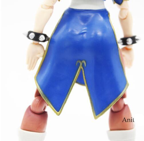 Street Fighter SHFiguarts IV Chun Li Fighting Body PVC Action Figure Model Toy
