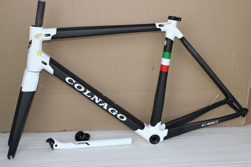 Colnago C60 T1000 telaio bici da strada full carbon con telaio in carbonio per bici BB386 taglia XXS XS S M L XL finitura lucido opaco