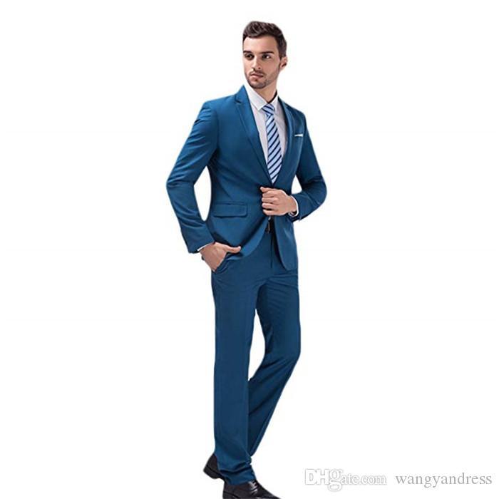2018 wangyandress personalizado cinza 3 peças homens ternos ternos de casamento um botão noivo smoking terno casaco calça design imagens (jaqueta + colete + calças)