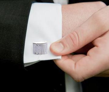 3 parçalı yüksek kaliteli kravat klipsi kol düğmeleri seti