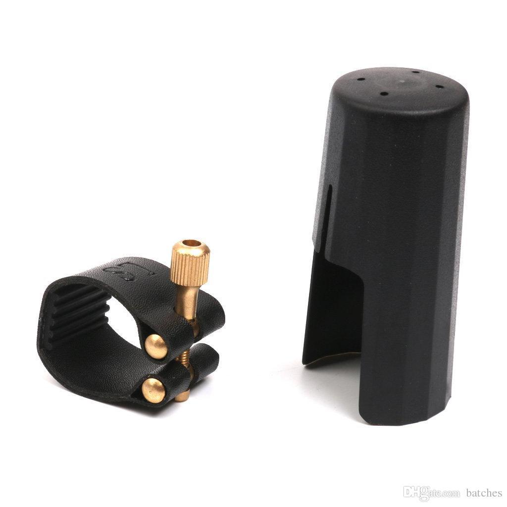 Embout buccal pour clarinette en plastique avec vis à tête plate noir