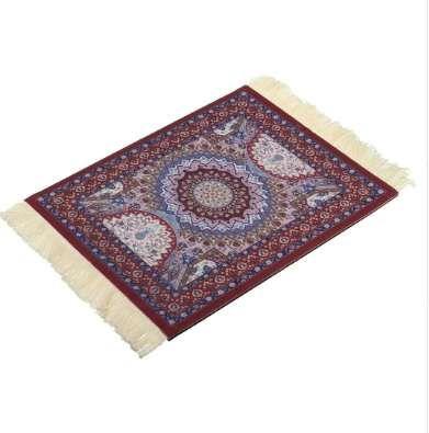 Magical Persian Mouse Pad Rug Bohemia Carpet Purple Crown Mousepad Table Cup Mat