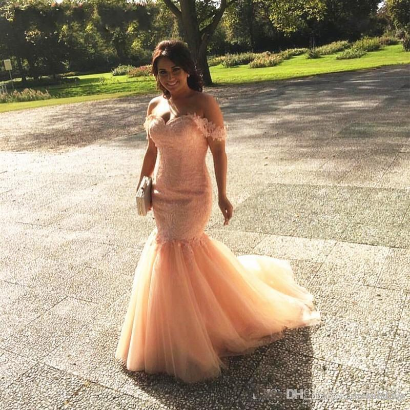 African Girls Prom Dresses 2018 Corset Sexy Off Shoulder Sweetheart Corset Tulle Vestido De Festa Evening Party Prom Gowns