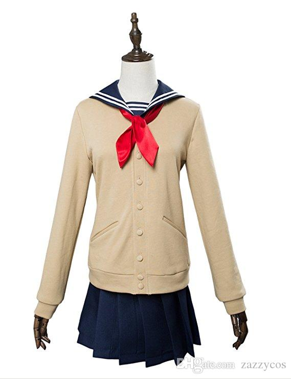 Mein Held Academia Himiko Toga Cosplay Kostüm Cross my body Outfit