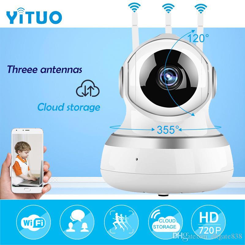 Cámara de vigilancia wifi IP Onvif P2P wi-fi 720 P Almacenamiento en la nube inalámbrico Mini cámara de monitor de bebé IP 10m Visión nocturna Ipcam YITUO