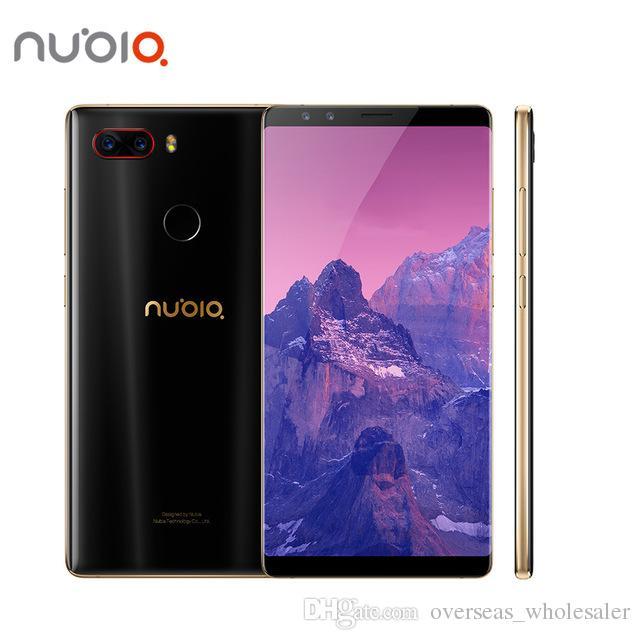 """Original ZTE Núbia Z17S 4G LTE Telefone Móvel Snapdragon 835 6 GB RAM 64 GB ROM Andorid 5,73 """"Tela Cheia 23.0MP ID de Impressão Digital Inteligente telefone celular"""