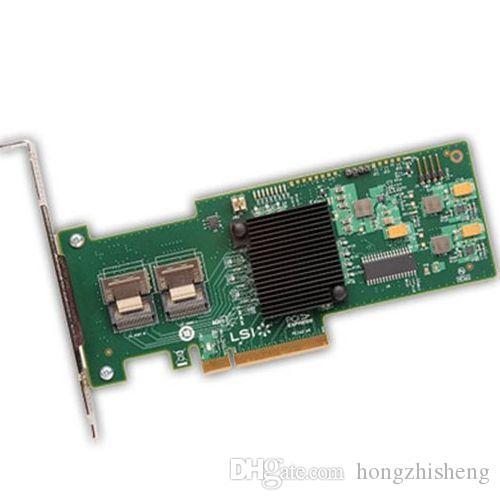 Megaraid Sas 9240-8I 6gb Sas Array Card Raid5 коробка 100% испытанное совершенное качество