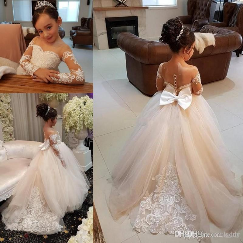 Glitz Pageant Dresses for Little Girls Free Shipping Vestido De Daminha Infantil One Shoulder Flower Girl Dresses Ball Gown
