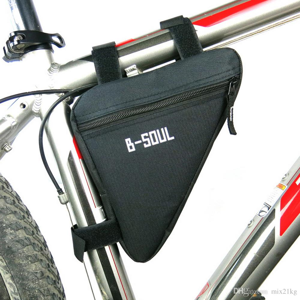 삼각형 자전거 가방 전면 튜브 프레임 자전거 자전거 가방 방수 MTB 도로 파우치 홀더 안장 Bicicleta 자전거 액세서리