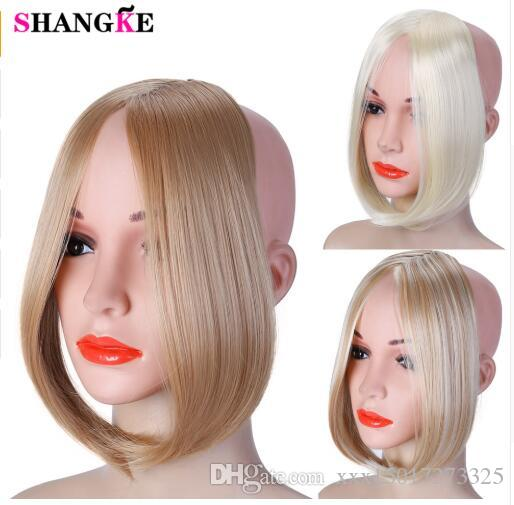 2019 Long Clip In on Front Hair Bang Side Fringe Hair Extension Real Natural Synthetic bangs hair piece