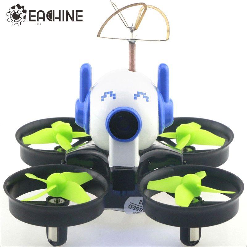 venta al por mayor E010C Micro FPV Racing Quadcopter con 800TVL 40CH 25MW CMOS Cámara 45C batería w / Mount Cap VS JJRC H36 E010 RC Drone
