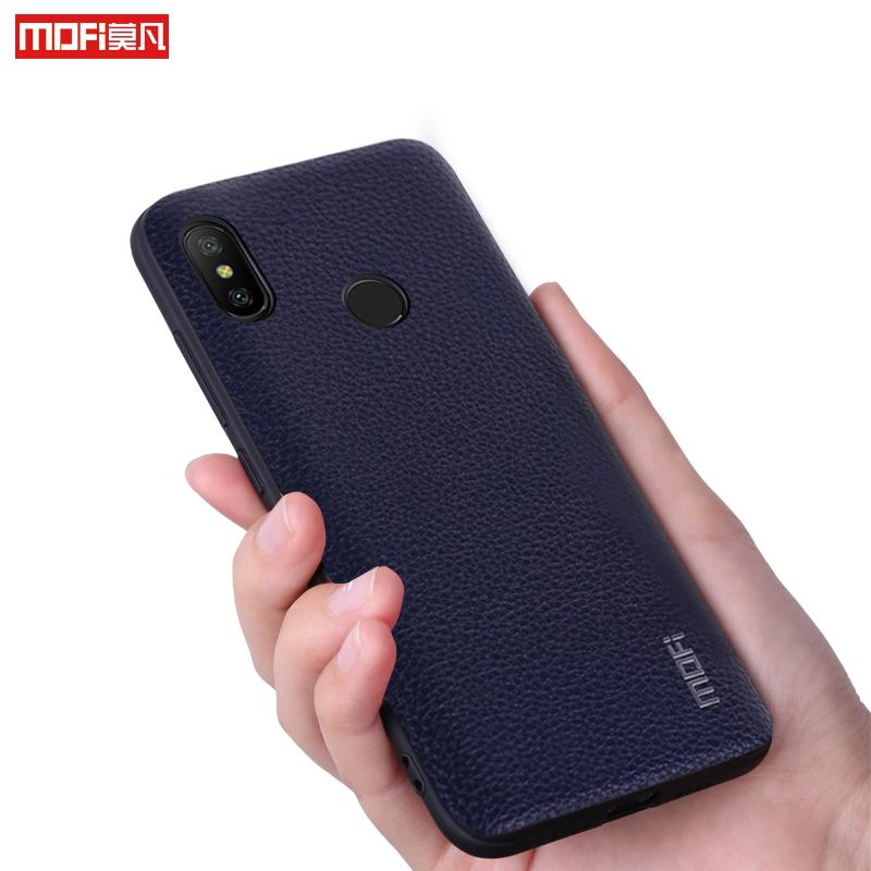 buy popular 276a4 164bc Redmi Note 6 Pro Case Cover Mofi For Xiaomi Redmi Note 6 Pro Case Pu  Leather For Xiaomi Redmi Note6 Pro Case Capa Coque Funda Canada 2019 From  ...
